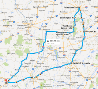 College Dreams & Other Things (or Summer Road Trip 2014- Part 1)