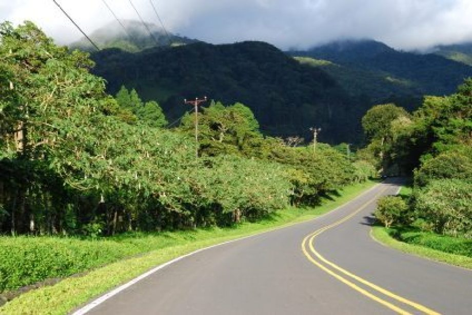 Image result for panama mountain road in rain at night