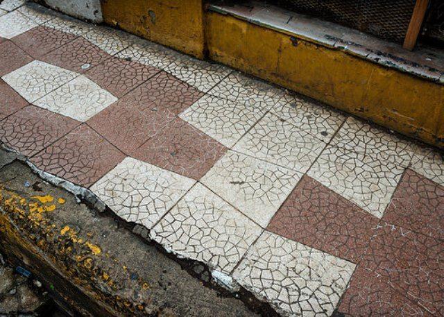 Panama Sidewalk
