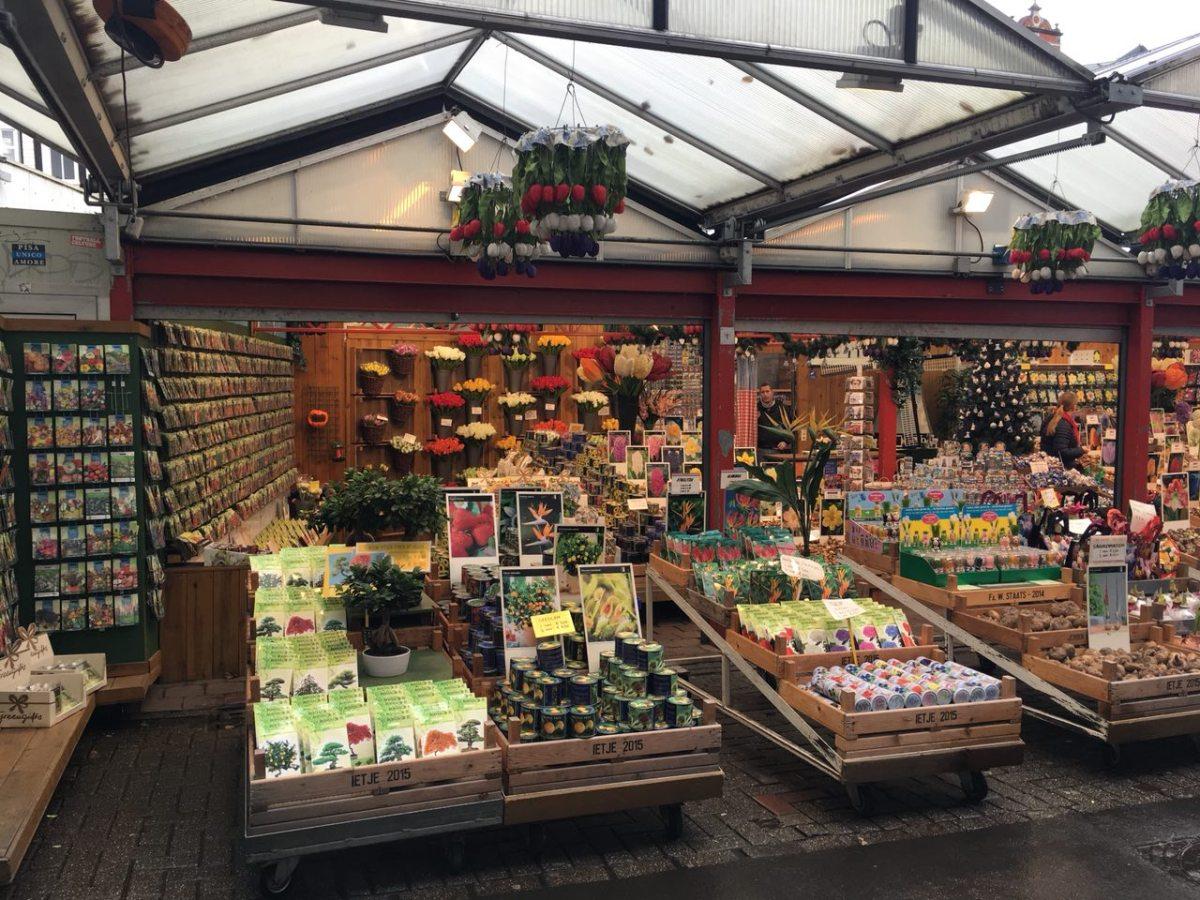 Amsterdam low cost - bloemenmarkt