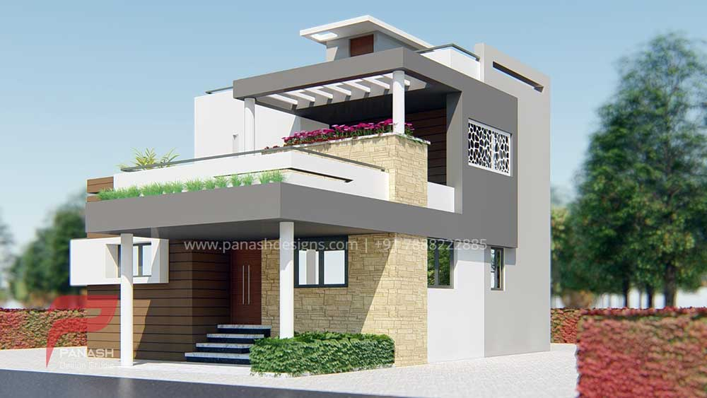 House Elevation Design 14