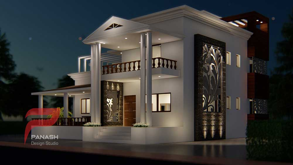 House Elevation Design 7