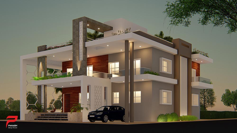 More House Elevation Design 1