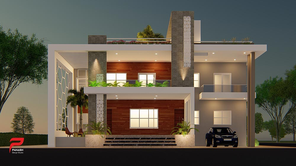 More House Elevation Design 3