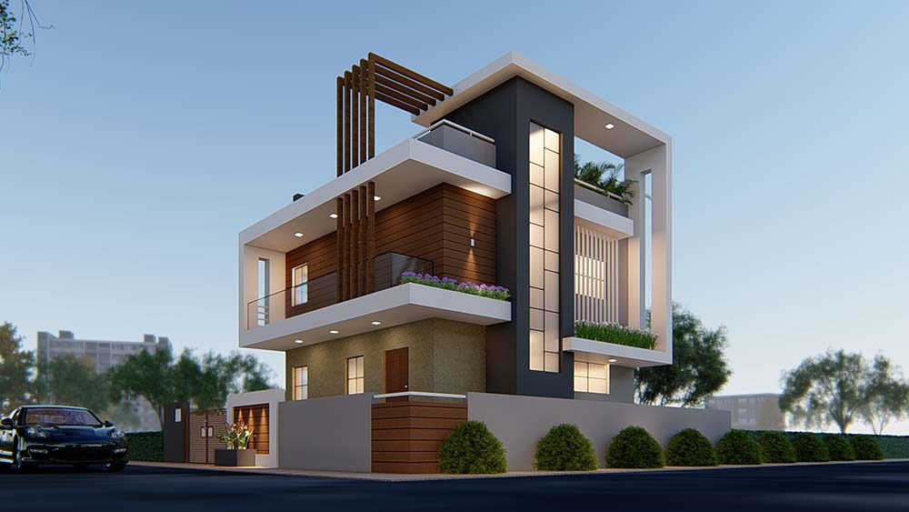 House Elevation Design 67
