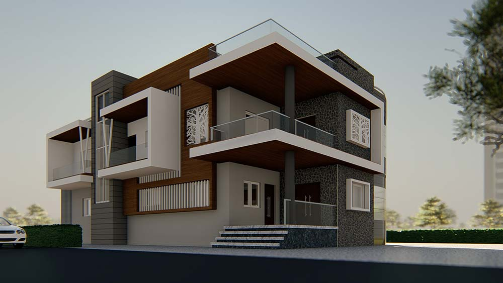 House Elevation Design 77