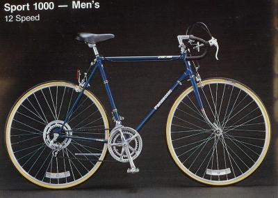 1983 Panasonic Sport 1000 - Men's