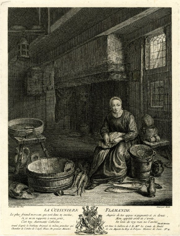 The Kitchen Maid In European Painting 17th 18th Century Panathinaeos