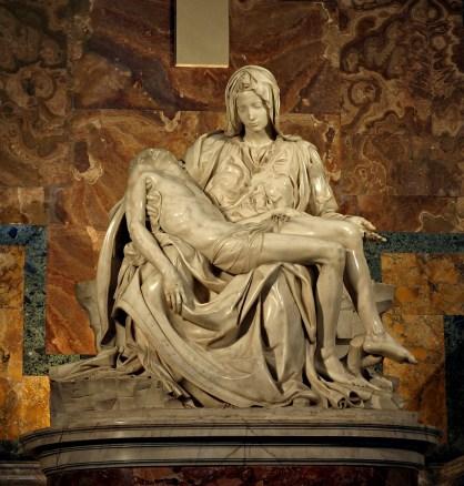 Pieta, Rome, St Peters Basilica