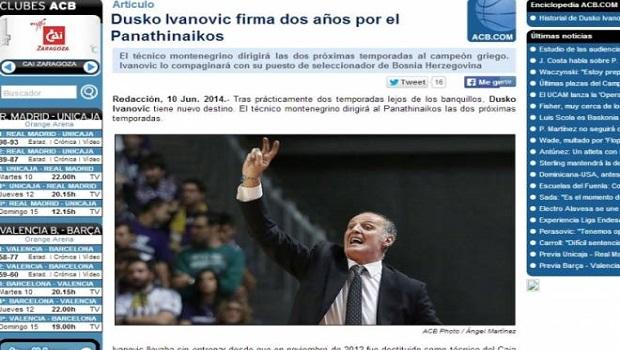 Οι Ισπανοί για Ιβάνοβιτς   panathinaikos24.gr