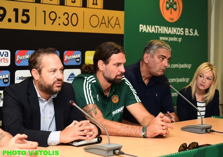 Κατσογιάννης: «Μόνο η αρχή η αυριανή γιορτή» | panathinaikos24.gr