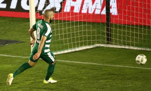 Χαρούμενος για τη νίκη επί της ΑΕΚ ο Μολίνς (pic)   panathinaikos24.gr