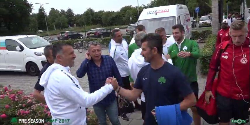 Η παρακάμερα από το ματς του Παναθηναϊκού με την Κόρτραϊκ (Vid) | panathinaikos24.gr