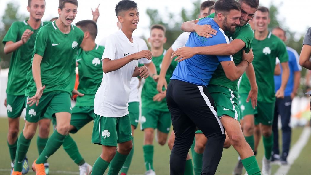 «Πράσινο» το ντέρμπι στην Κ-17! | panathinaikos24.gr