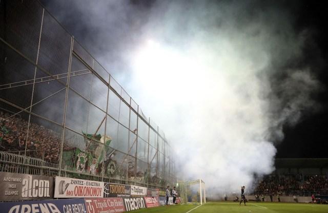 Η πιο Παναθηναϊκή φωτογραφία: Πέταλο, καπνογόνα και πράσινος παλμός (pic)   panathinaikos24.gr