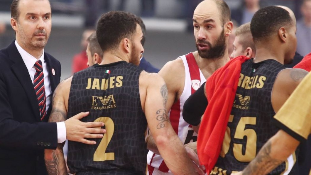 Ένταση στο ΣΕΦ με Τζέιμς με τη λήξη του αγώνα!   panathinaikos24.gr
