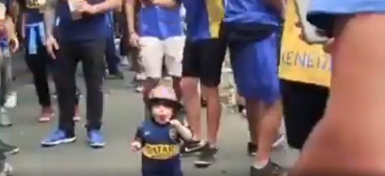 Viral: Το βίντεο που κάνει τον γύρο του κόσμου με τον μικρό οπαδό της Μπόκα Τζούνιορς (vid) | panathinaikos24.gr