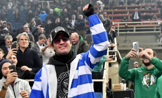 """Ο Νίνο ευχαρίστησε δημόσια τον Γιαννακόπουλο για το """"Παράνοια"""" (pics)   panathinaikos24.gr"""