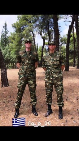 Με φόρμα παραλλαγής Μήτογλου και Παπαγιάννης  – Παρουσιάστηκαν στον στρατό! (pic)   panathinaikos24.gr
