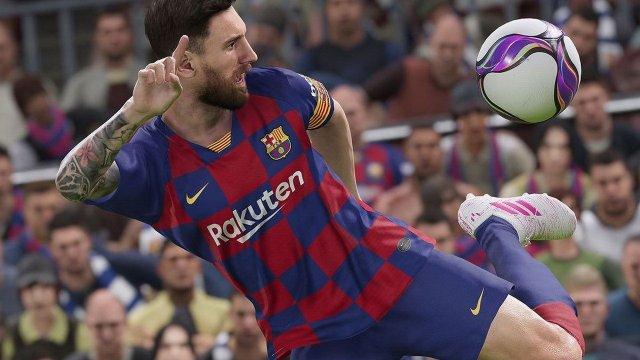O Messi στο εξώφυλλο και του PES 2020   panathinaikos24.gr