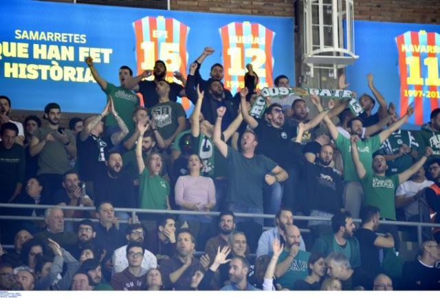 Videos: Το πάρτι στις εξέδρες του «Παλάου Μπλαουγκράνα» από τον πιο μπασκετικό λαό της Ευρώπης! | panathinaikos24.gr