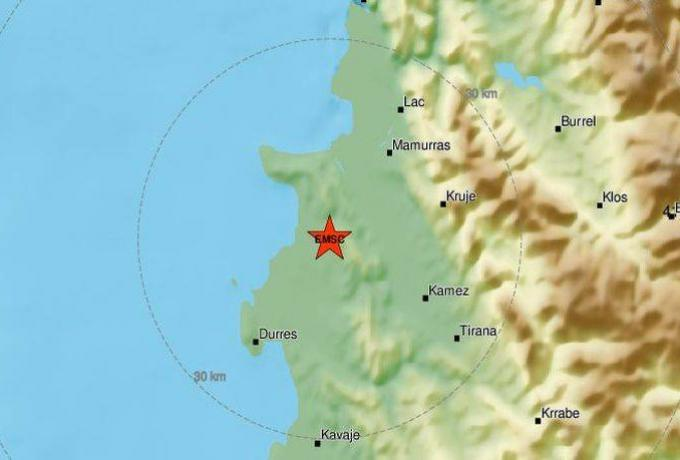 Νέος δυνατός σεισμός στην Αλβανία!   panathinaikos24.gr