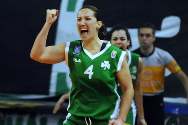Παναθηναϊκός: H «Green legend» Τούλα Καλέντζου (Pic) | panathinaikos24.gr