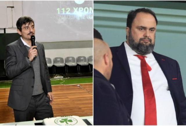 Ο Παναθηναϊκός του Γιαννακόπουλου και ο Ολυμπιακός του Μαρινάκη | panathinaikos24.gr