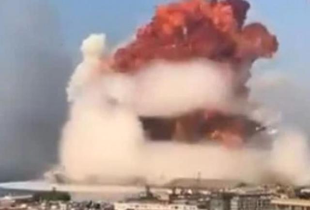 Χάος στη Βηρυτό μετά την έκρηξη – Τουλάχιστον δέκα νεκροί (vids) | panathinaikos24.gr