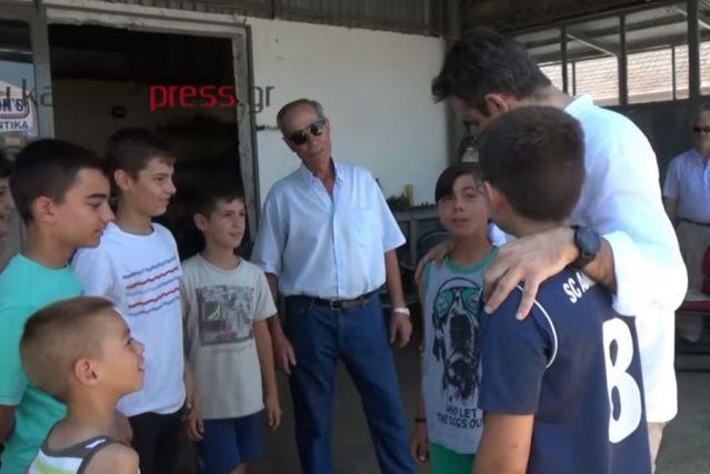 Μητσοτάκης: «Μόνο Πανάθα; Δεν υπάρχει κανένας Ολυμπιακός εδώ;» (vid)   panathinaikos24.gr