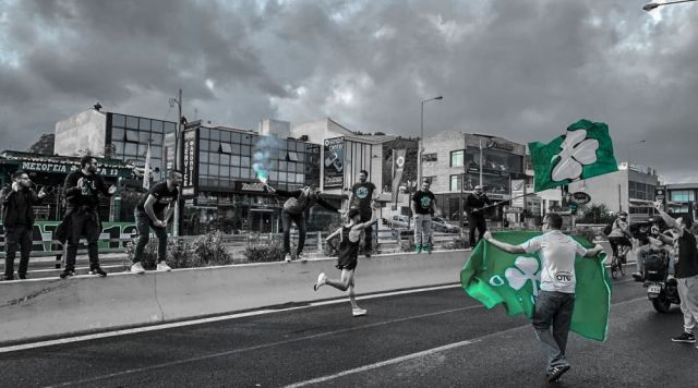 Τα βλέπω όλα πράσινα σε όλη την Αττική! | panathinaikos24.gr