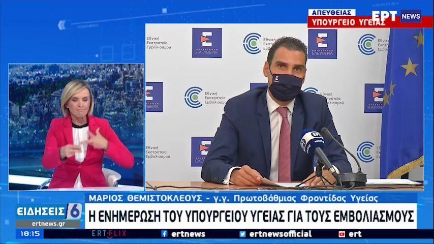 Εμβολιασμοί: Από την Παρασκευή η πλατφόρμα για 40-44 ετών (vid)   panathinaikos24.gr