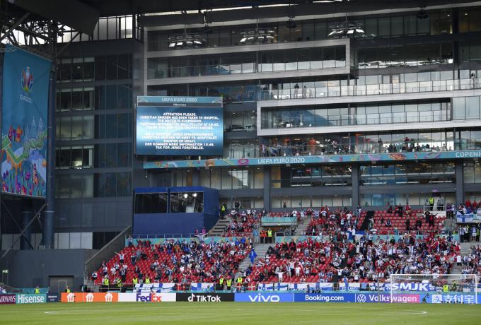 Ανατριχιαστικό: Ολο το γήπεδο φώναζε το όνομα του Έρικσεν (vid) | panathinaikos24.gr