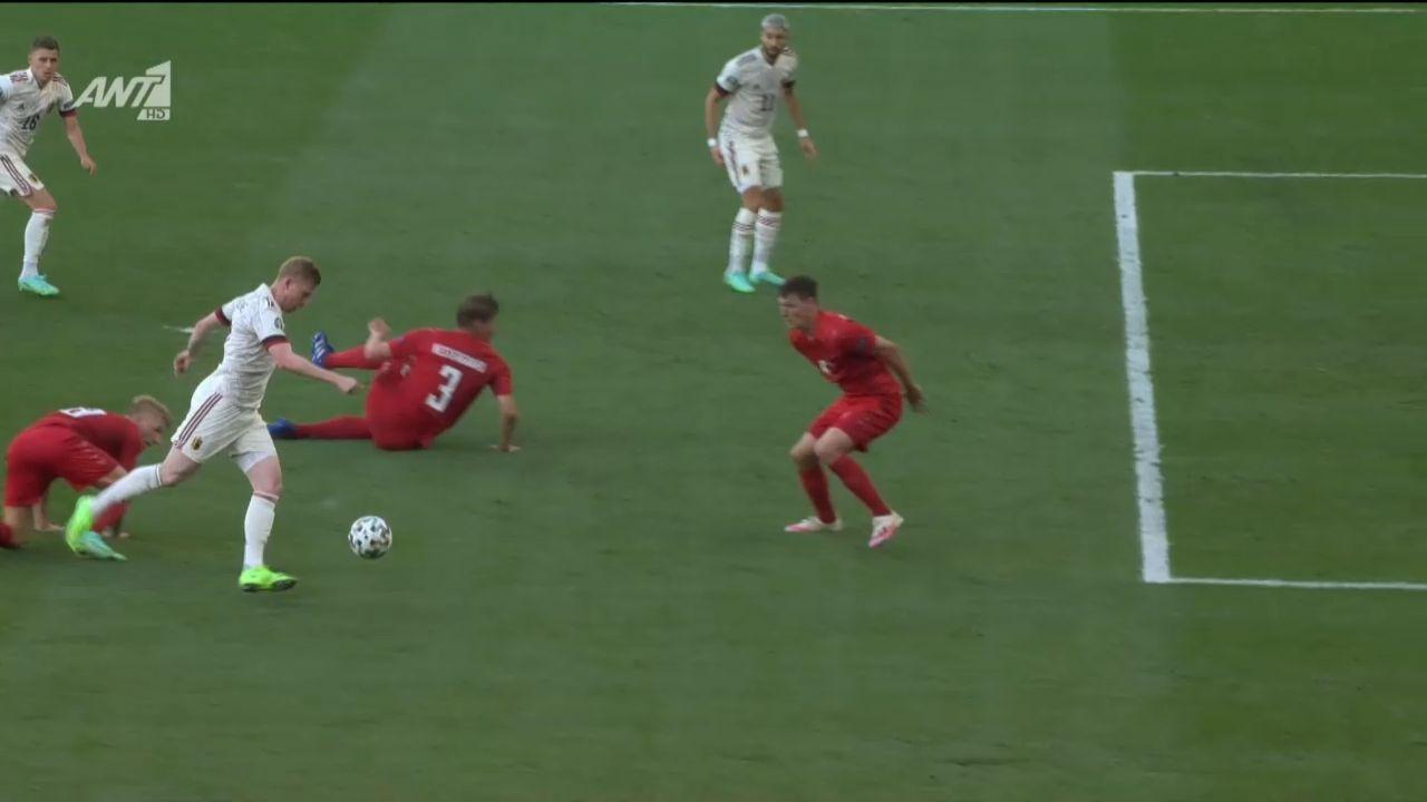 Δανία – Βέλγιο: Φοβερός συνδυασμός και 1-1 ο Αζάρ! (vid) | panathinaikos24.gr