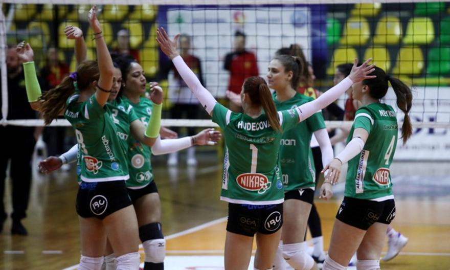 Επιστρέφουν τα play off στη Volley League γυναικών   panathinaikos24.gr