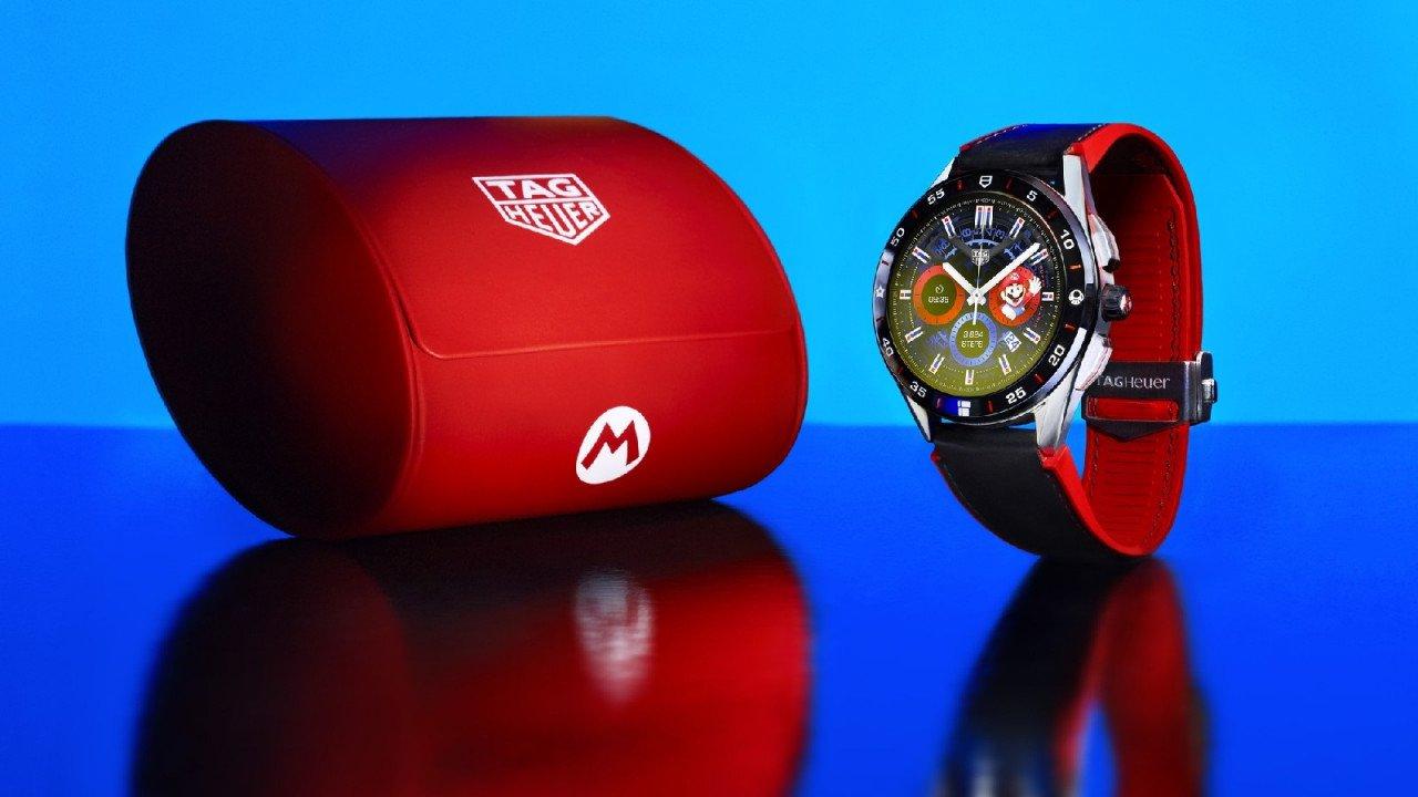 Ανακοινώθηκε το limited edition Super Mario smartwatch της Tag Heuer με τιμή $2.150 | panathinaikos24.gr