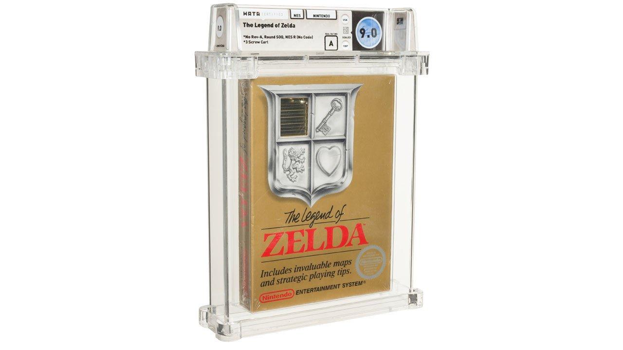 Συλλεκτικό αντίτυπο του Zelda πωλείται έναντι 110 χιλ. δολαρίων   panathinaikos24.gr