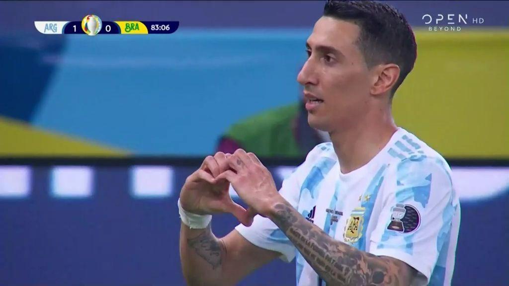 Αργεντινή – Βραζιλία : Το γκολ του Ντι Μαρία από άλλες λήψεις (vid)   panathinaikos24.gr