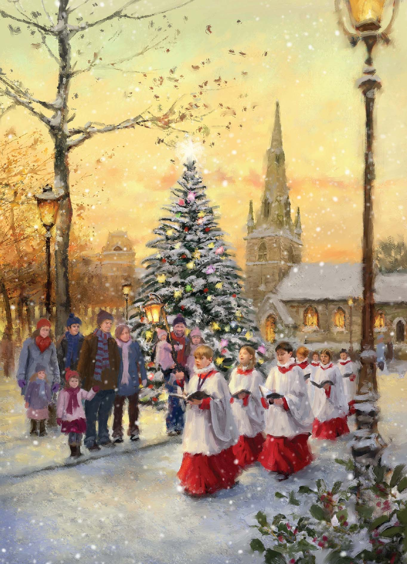 Christmas Choir Cards For Pancreatic Cancer Action