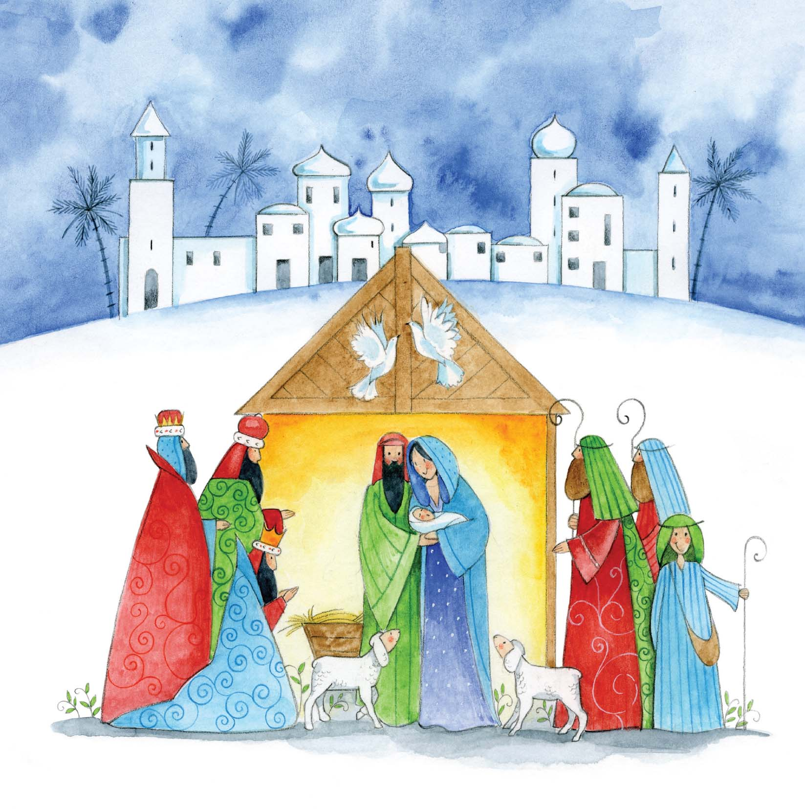 The First Christmas Cards In Aid Of Pancreatic Cancer Action