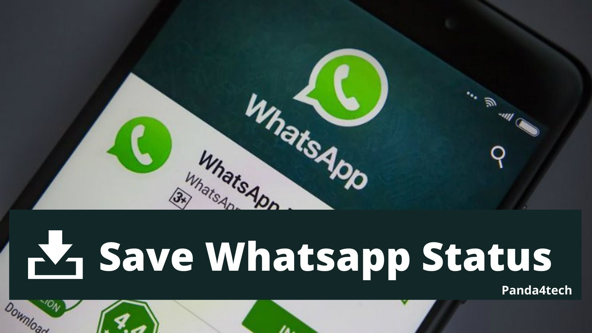 How to Save/Download Whatsapp Status Videos & Images in Mobile Gallery 2