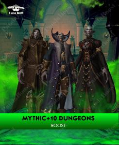 Mythic +10 Dungeon Boost