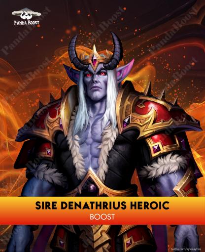 Sire Denathrius Heroic Kill Boost Best