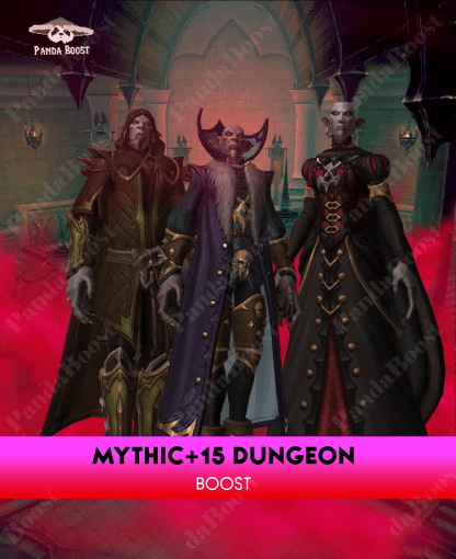 US MYTHIC +15 DUNGEON BOOST