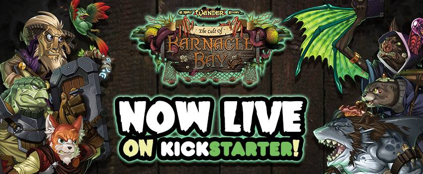 Cult of Barnacle Bay Kickstarter Now Live