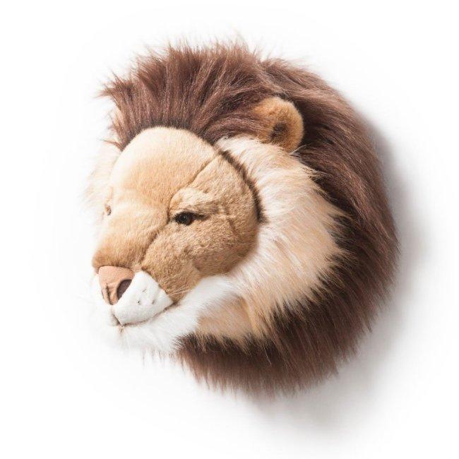 Plüsch Tierkopf-Trophäe Löwe Cesar