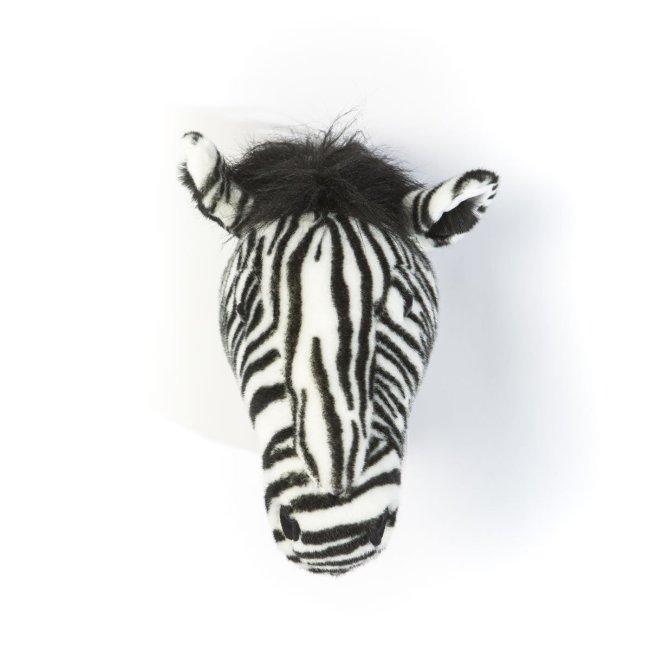 Plüsch Tierkopf-Trophäe Zebra Daniel