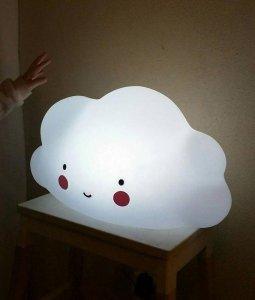 Dekolampe Wolke (gross)
