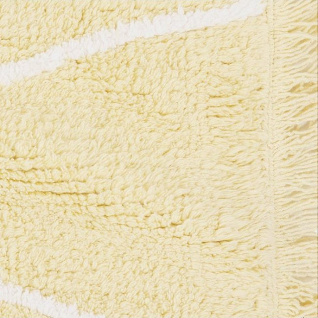 Lorena Canals Hippy Kinderteppich Gelb 1