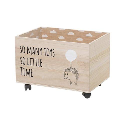Bloomingville Spielzeugbox auf Rollen